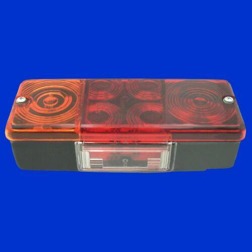 Schlußlicht eckig 210x83x60mm  G41311 G41310 Rückleuchte Rücklicht