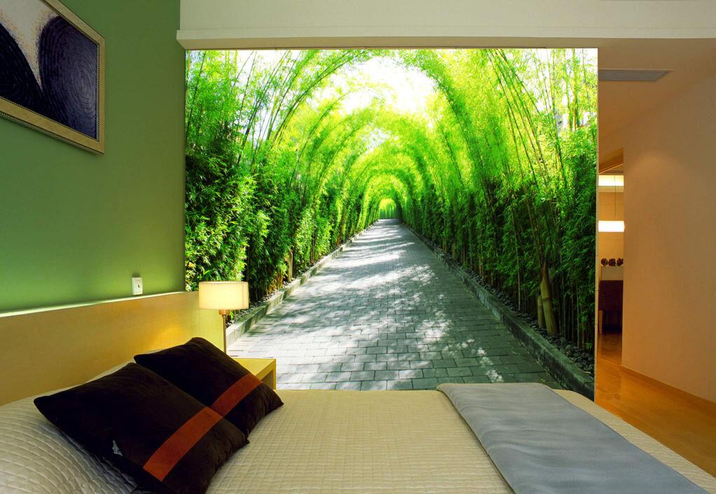 3D Die Schatten Weg 023 Fototapeten Wandbild Fototapete BildTapete Familie DE