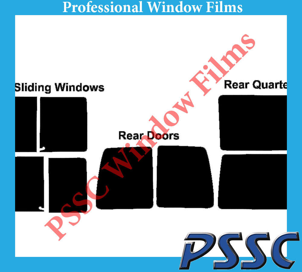 PSSC Pre Cut Rear Car Window Films - Peugeot Expert 1996 to 2015