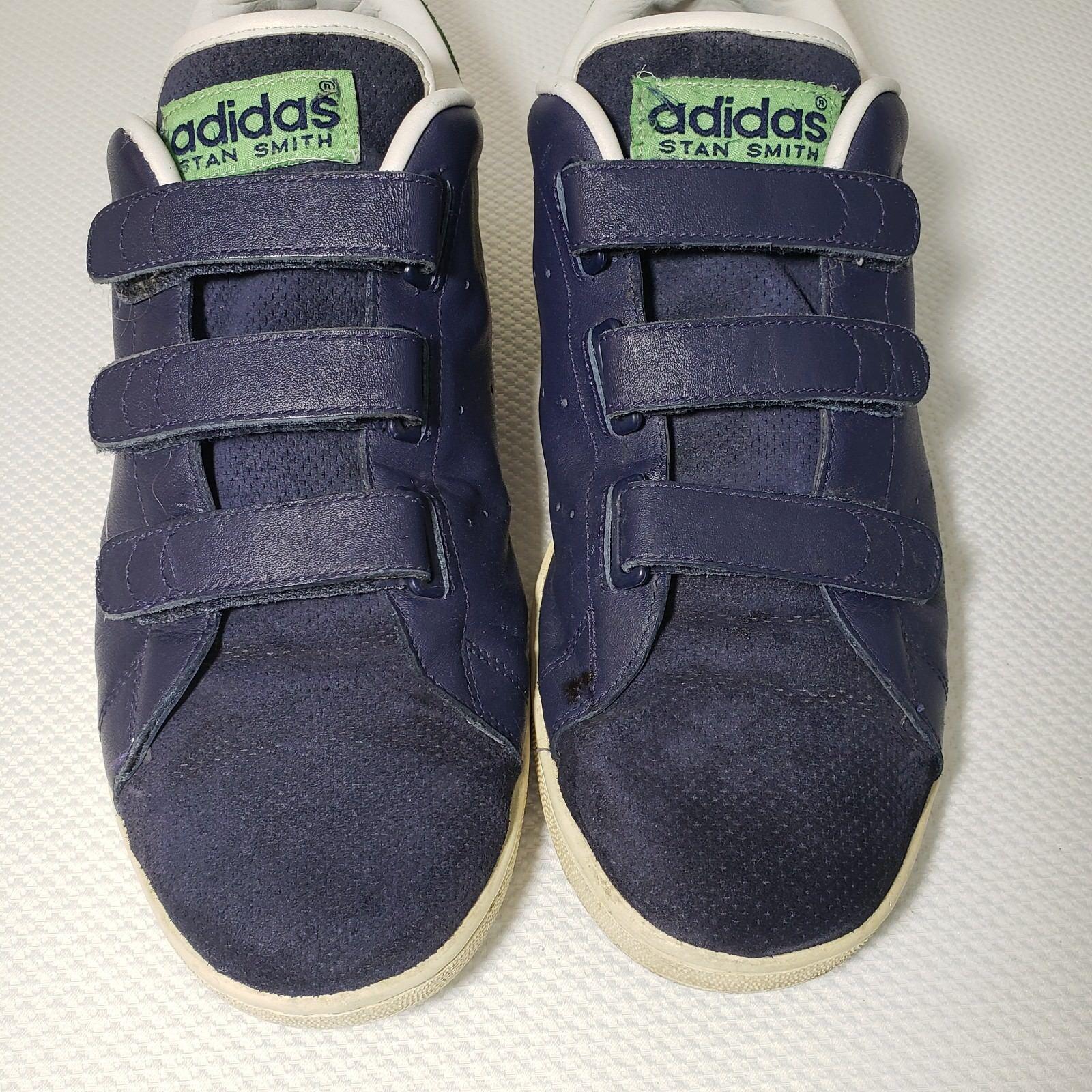 Adidas Originals Stan Smith 13 CF Sneakers Green Navy bluee 2006 Low Top