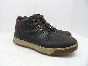 8e6c3c1c411 TIMBERLAND Men's TENMILE CHUKKA BOOTS A18ZK Dark Brown Size 12M | eBay