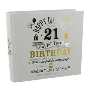 Das Bild Wird Geladen Signography 21st Geburtstag Fotoalbum Geschenkidee Maenner
