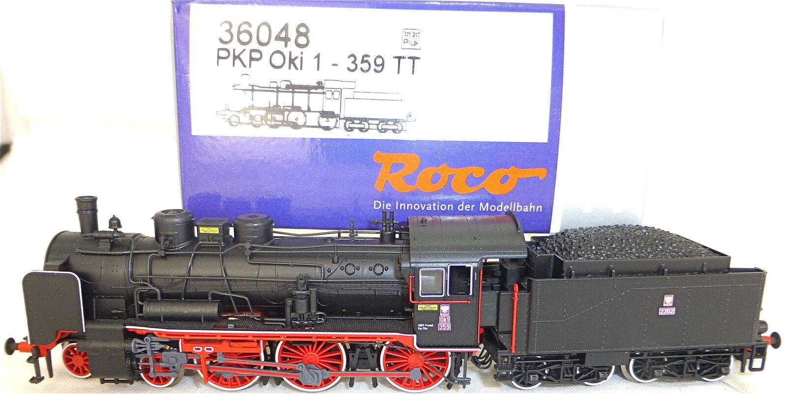 Roco 36048 Pkp Oki 1 359 Locomotiva a Vapore Tender Nem Dss Tt 1:120 Nuovo HL4 Μ