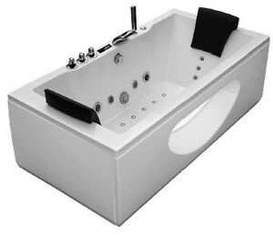 whirlpool eckbadewanne badewanne wanne pool spa whirlwanne acryl f r 2 personen ebay. Black Bedroom Furniture Sets. Home Design Ideas