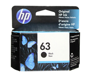 HP-63-Black-Ink-Cartridge-63-F6U62AN-NEW-GENUINE