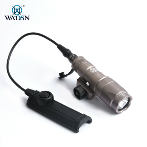 Mini Scout Light Airsoft M300A Flashlight IR Filter Cover Tactical Wooland Torch