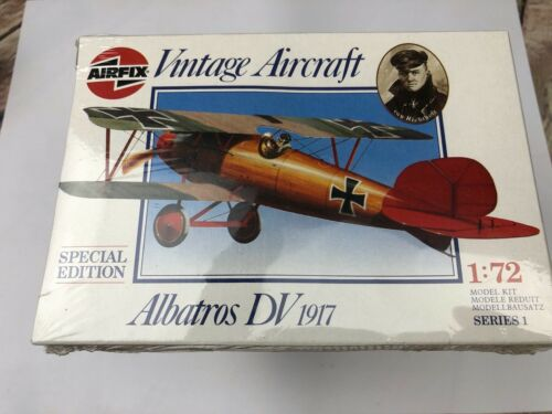 Albatros DV 1917 édition spéciale 01078 Airfix Model Kit 1//72 série 1 SCELLÉ