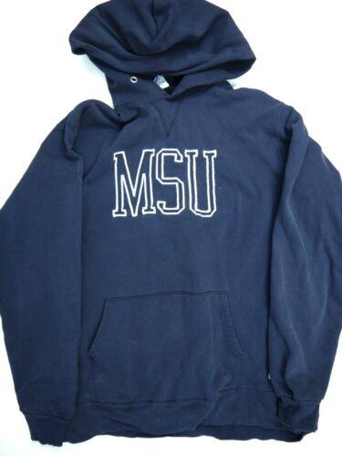 Vintage Champion MSU Hoodie Sweatshirt Michigan St