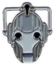Metal Enamel Pin Badge Brooch Who Doctor Dr Hoo Cyberman Cyber Man Face Head