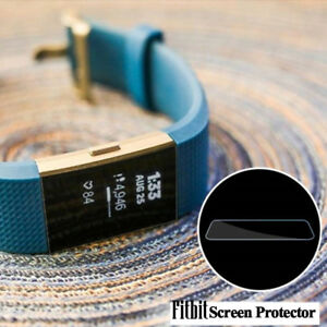 5-pack-Soft-Tempered-Glass-Screen-Protector-Film-For-Smart-Watch-Fitbit-Charge-2