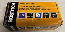 Bostitch Bcs1516 1m 155 Gauge 2 Hardwood Flooring Staples 1000 Count