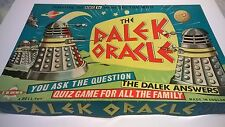 Rare 1965 vintage Doctor Who Dalek Oracle board game BBC Science Fiction TV Dr
