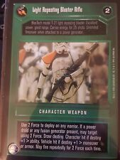 Star Wars CCG BB Premiere Limited Light Repeating Blaster Rifle NrMint-MINT