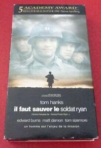 VHS-Movie-Il-Faut-Sauver-le-Soldat-Ryan-Version-Francaise-Tom-Hanks
