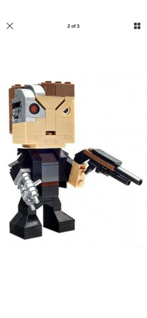 Terminator Mega Bloks Construx Figure KUBROS sealed