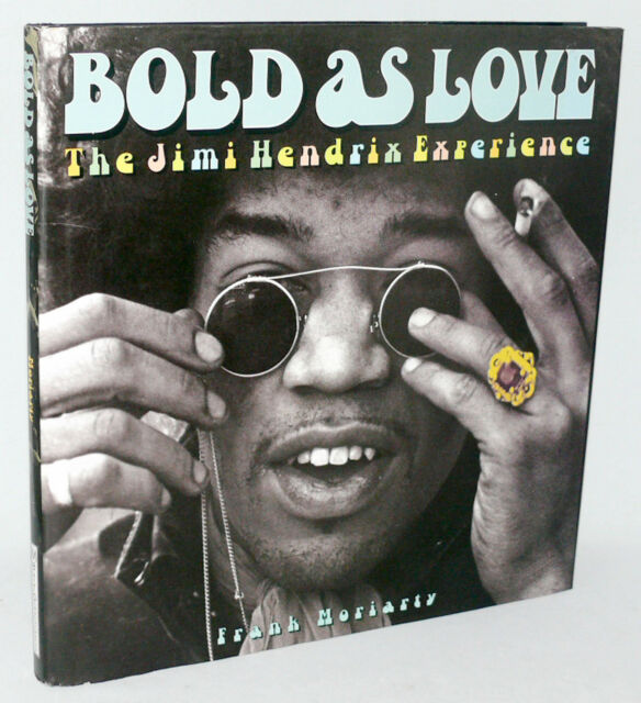 BOLD AS LOVE - Jimi Hendrix Experience Large Hardbound DJ Book