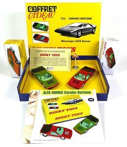Coffret Collector Alfa Roméo Carabo Bertone DINKY TOYS Voiture Miniature MB101