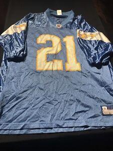 d472fc4c7 La foto se está cargando Polvo-Azul-San-Diego-Chargers-Ladainian-Tomlinson- Camiseta-