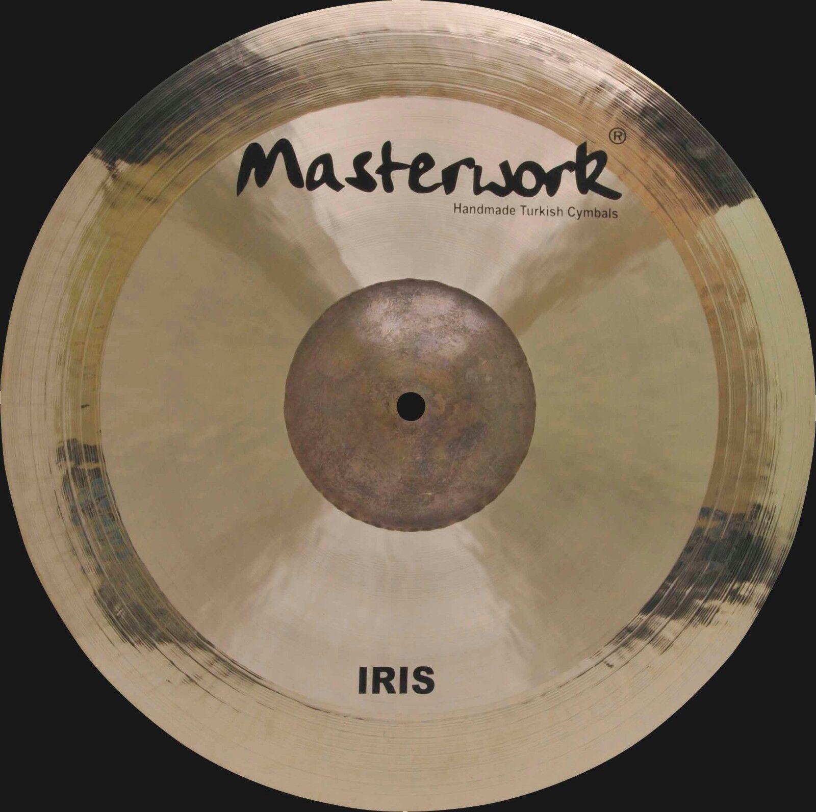 Masterwork Cymbals Iris Series 15   Iris Crash Extra Thin