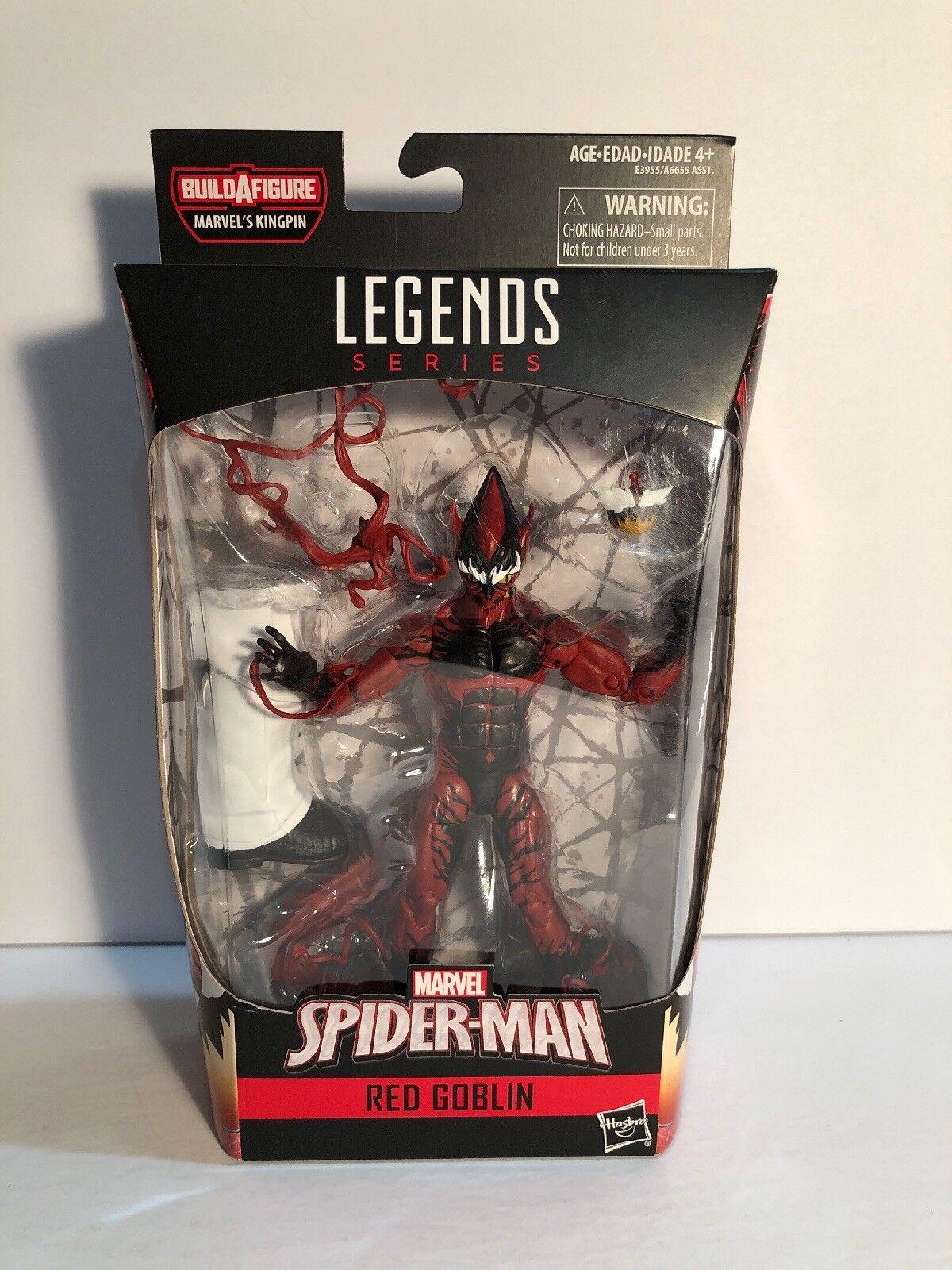 Marvel - legenden neu  rote goblin -   spider - man  baf - boss actionfigur hasbro