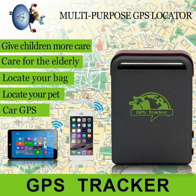 Mini Car Vehicle Tracker GPS Real time GPS/SMS/GPRS Tracking Device TK102-2 1S