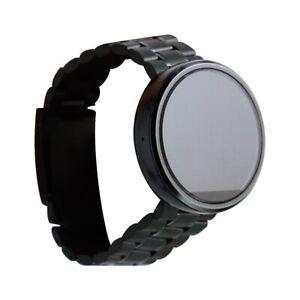 FAIR Motorola Moto 360 Smartwatch (1st Gen) - Black / Black Metal Band