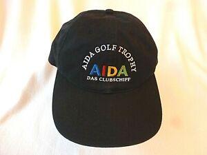 AIDA-Golf-Trophy-NIKE-Golf-Cap-Basecap-Muetze-Dunkelblau-verstellbar-NEU-RAR