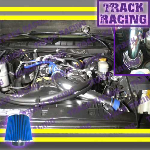 "98-03 CHEVY S10 ZR2//XTREME//HOMBRE//SONOMA 2.2L FULL COLD AIR INTAKE KIT 3/"" Blue"