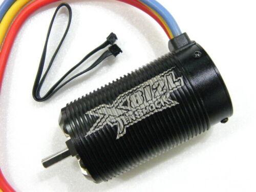 TenShock X812L 1900kv 6 Pole Sensored Brushless for 1 //8 Truggy #X812L//4.5Y