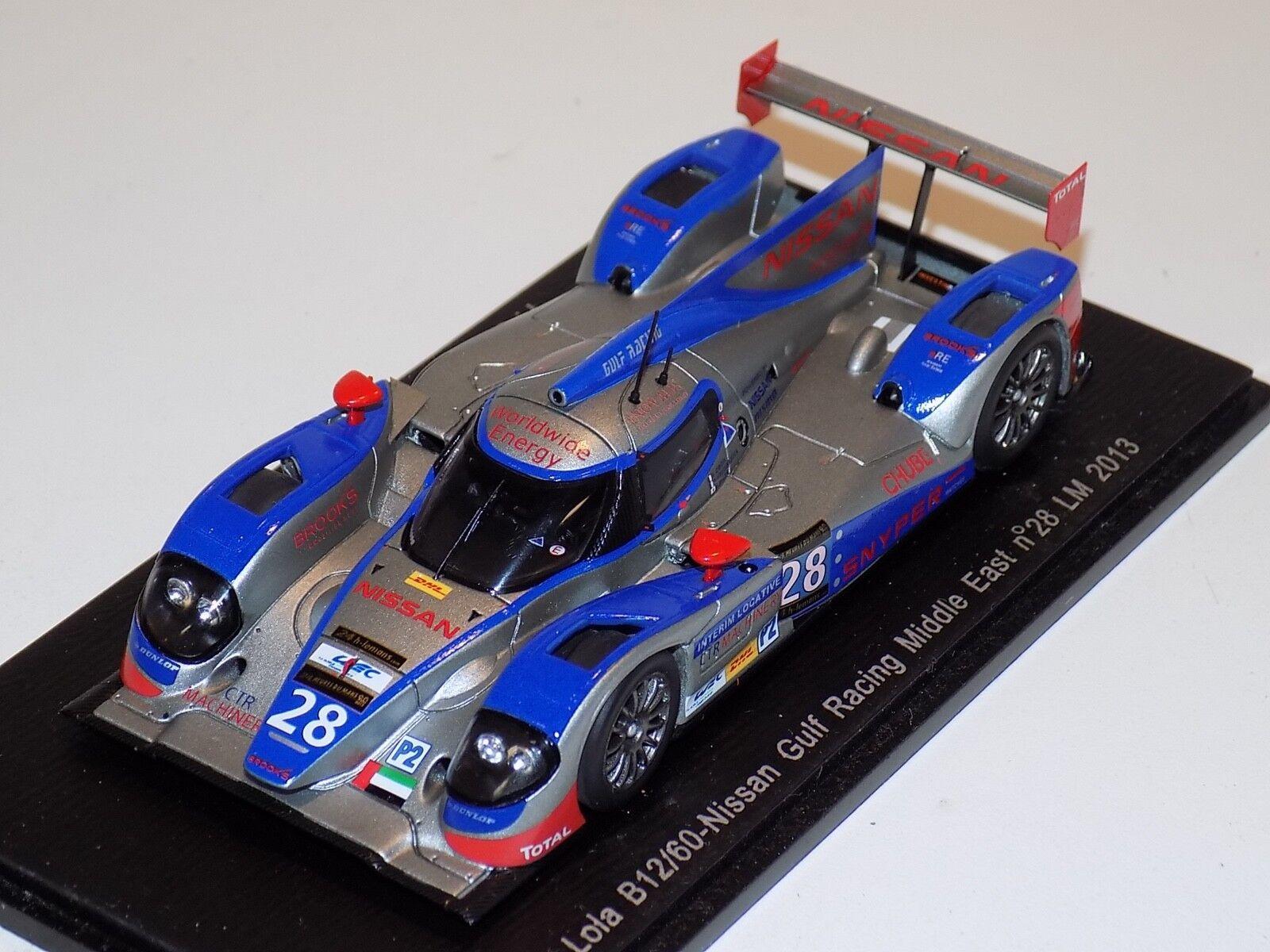 1 43 Spark Lola B12 60 Nissan  Car Hours of LeMans S3749
