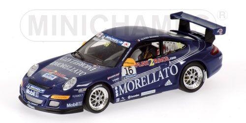 Porsche 911 gt3 o. maximin porsche supercup 2006 1 43 modell minichamps