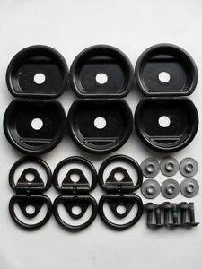 6-GENUINE-VW-MERCEDES-SPRINTER-FLOOR-LASHING-TIE-DOWN-D-RINGS
