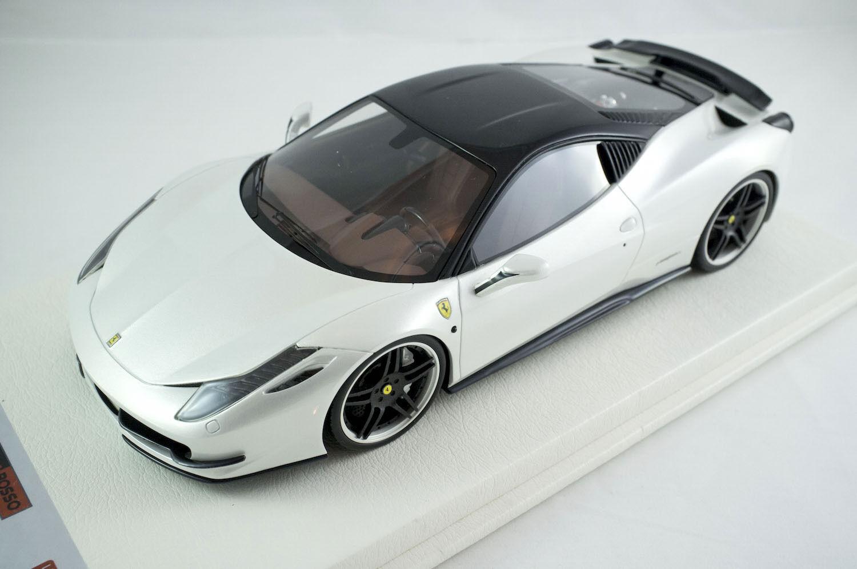 1 18 APM Ferrari 458 Italia Novitec red White ltd 10 pcs Davis Giovanni