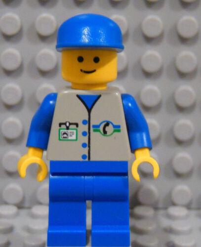 LEGO Minifig City Town Classic Telephone Lineman Repairman