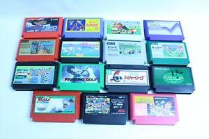 Nintendo-Famicom-cartridges-Lot-of-15-retoro-games-nes-version-JAPAN-2