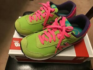 New Balance 515 Avocado Green/Pink Size