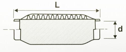 FLEXROHR FLEXIBLES FLEXSTÜCK UNIV FLEX PIPE HOSENROHR 48x150 MM