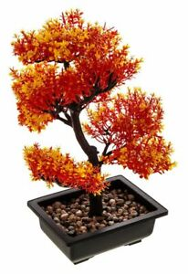 New Artificial Bonsai Tree Plant Flower Desk Home Office Guest Japanese Chinese Ebay