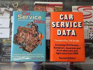 Car Data Book