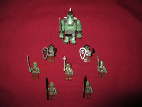 Weapons LEGO Castle Minifigures LOT Castle//Kingdom Trolls//Ogre Armor .