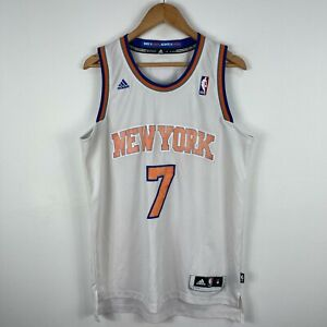 New-York-Knicks-Basketball-Jersey-Mens-Medium-Adidas-7-Anthony-2013
