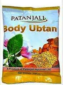 Details about Patanjali Indian Natural Body Ubtan Face Pack Mask Powder for  Glow
