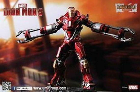 Dragon 1 24 Iron Man 3 Mark 35 Disaster Rescue Suit rosso Snapper MODEL KIT 35804