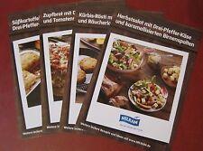 4 Stück Rezeptkarten Milram Käse Rezepte Kochen Sammeln