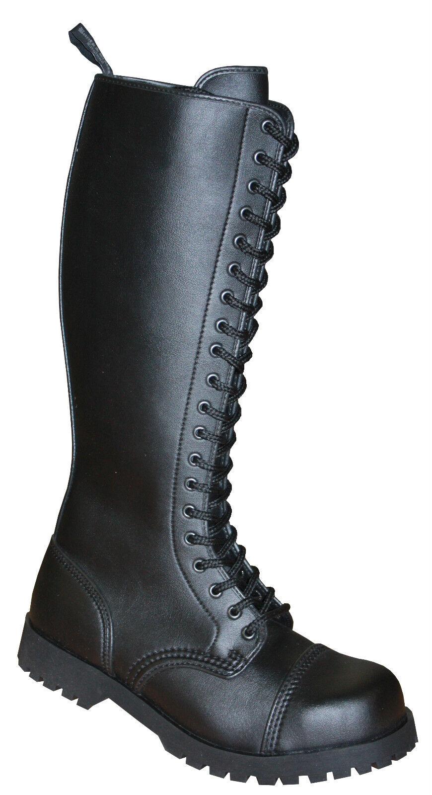 botas & & & BRACES 20 agujero vegetariano Vegi botas y Rangers Negras Nueva  tienda en linea