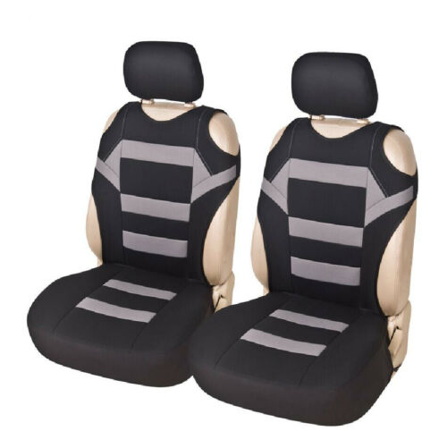 2PC Universal Car Auto Durable Front Seat Cushion Cover Protector Pad