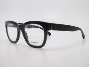 d81c546200b2 New Authentic Coach HC 6115 5505 Black Chunky Glitter Eyeglasses ...