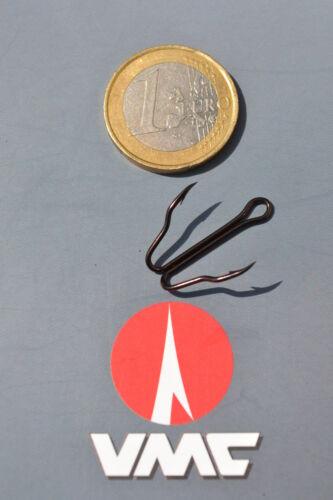 Haken 10 Stk VMC 9900BZ Blitz Raubfisch Haken für z.B Angelsport Barsch Hecht Zander in 4 Größen