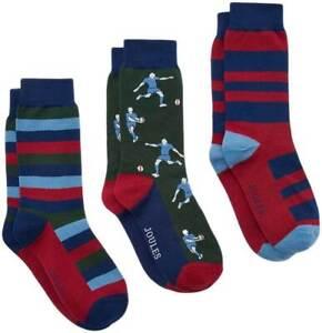 Joules Boys 3 Pack Kids Socks