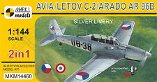 Mark I Models 1/144 Avia/Letov C-2/Arado Ar-96B 'Silver Livery' (2in1) # 14460